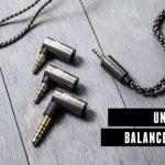 これ1本ですべてのバランス出力端子に対応可能!!「MEE audio Universal MMCX Balanced Audio Cable」