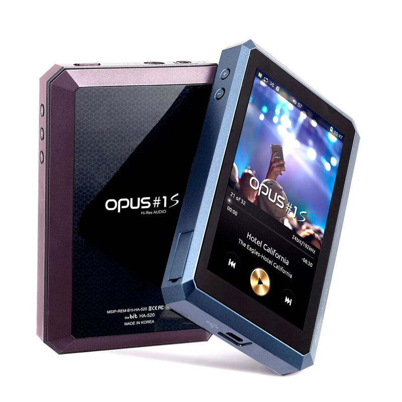 audio-opus、デュアルDAC搭載の最新プレイヤー「OPUS#1S」を発売