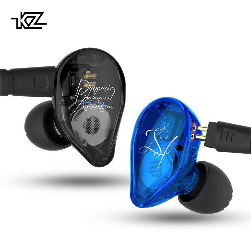 またまたKZの新作中華ホン登場! 2BA+1DDのハイブリッド構成「KZ ED16」