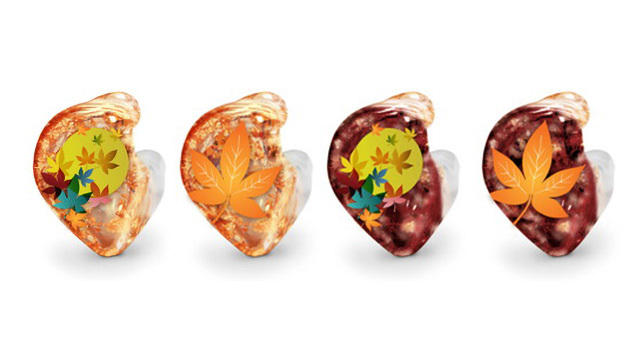 Westone、「四季」をモチーフとした独特なデザインのカスタムIEMデザインを発表! 第一弾は紅葉!